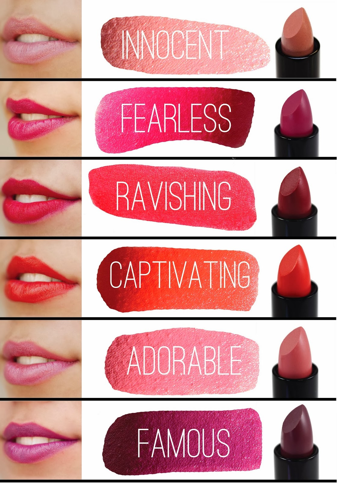 What Colour Lipstick Suits Pale Skin