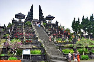 Photo: Pura Besakih (Mother Temple), Indonesia