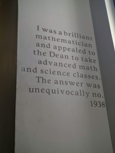 Historic quotes from women scientists and engineers at Margaret Morrison Carnegie College in Pittsburgh