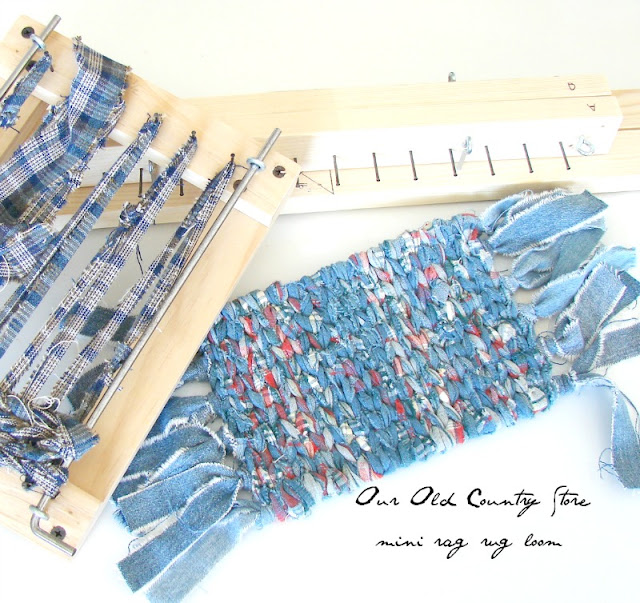 Rug Rag Loom: Our Old Country Store