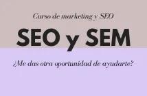 Curso de marketing online y SEO