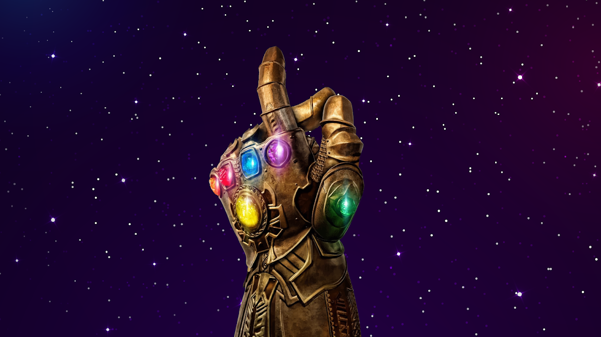 Avengers infinity war endgame thanos gauntlet wallpaper background 4k