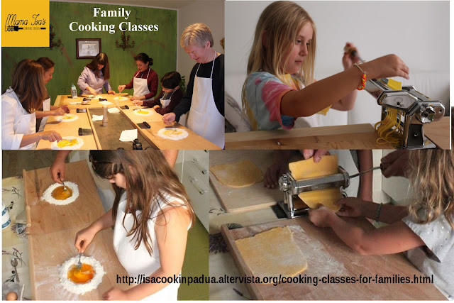 Mama Isa's Cooking School in Italy Venice Cooking Classes for kids and families
