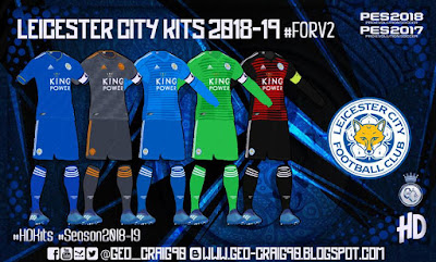 PES 2018 Kitpack v2 HD Season 2018/2019 by Geo_Craig90