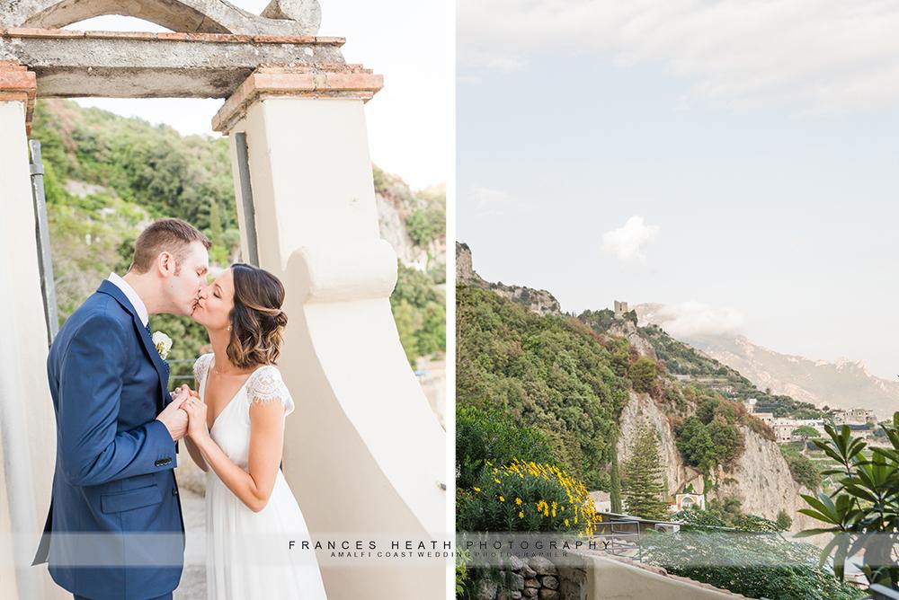 Amalfi elopement celebration