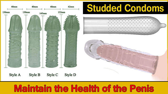 Studded Condoms Perfect for Increasing Sensation Experience