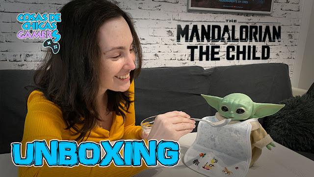 Unboxing Baby Yoda Grogu - The Mandalorian