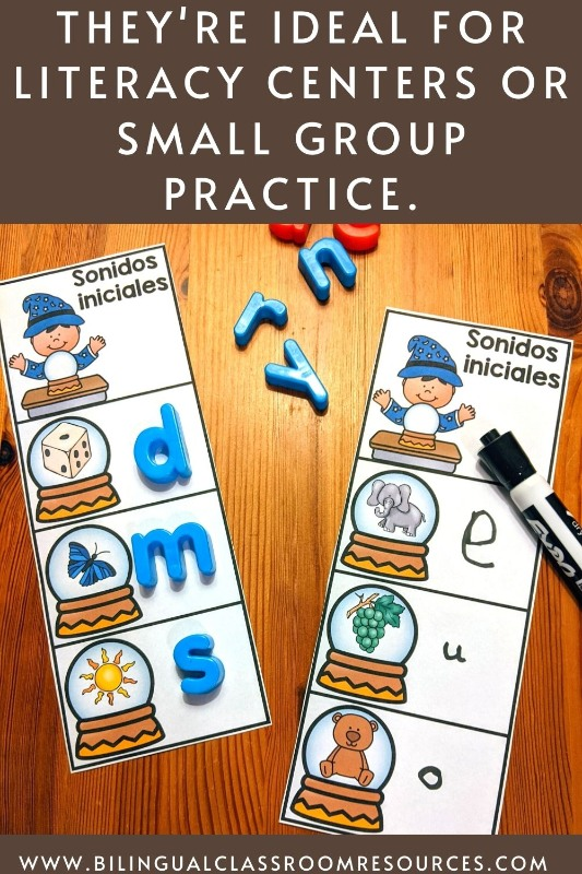 Beginning Sounds in Spanish