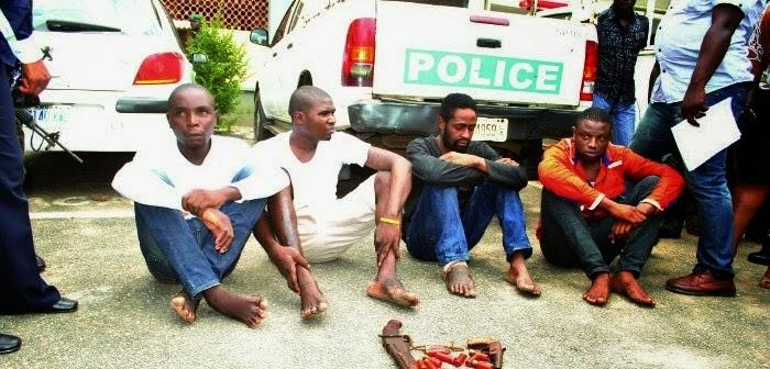 ikorodu lagos robbers arrested