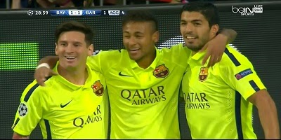 UEFA-04 : Bayern 3 vs 2 Barcelona 12-05-2015