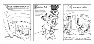 Arizona Coloring pages by illustrator