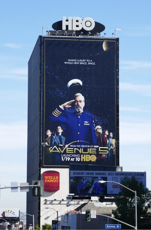 Giant Avenue 5 series launch billboard