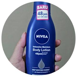 Nivea body lotion intensive moisture