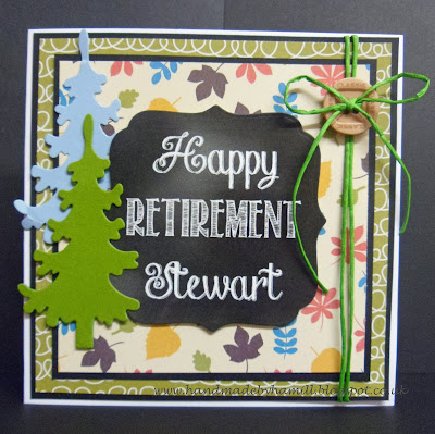 Retirement Card for a Forestry Worker
