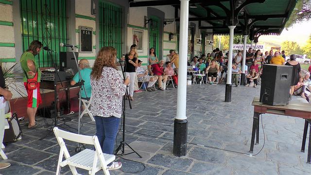 Cientos de personas participaron del Festival #QueVuelvaElTren