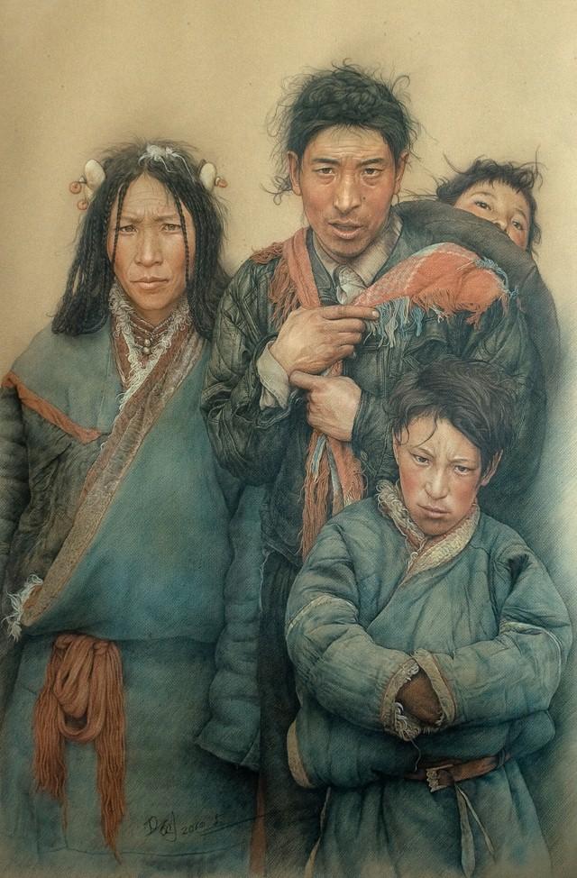 Карандашные портреты. William Wu 18