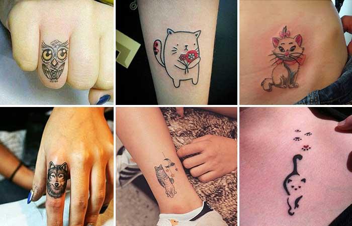 küçük hayvan dövmeleri small animal tattoos