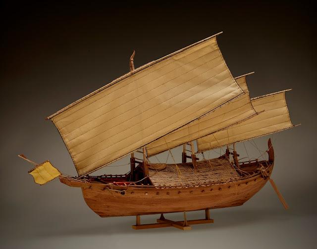 bentuk kapal junk