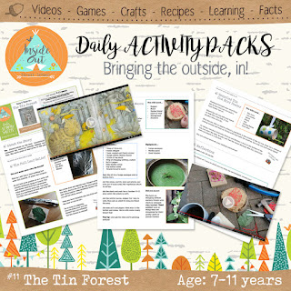 The Tin Forest Activity Pack
