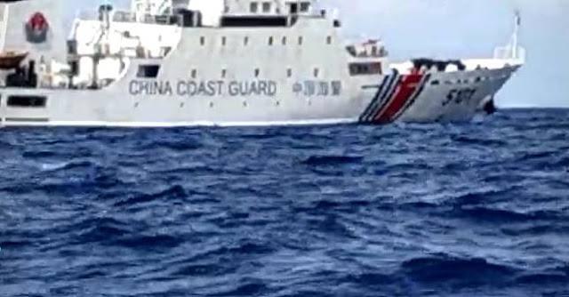 Kapal Coast Guard China Kawal Maling Ikan di Natuna, RI Protes Keras