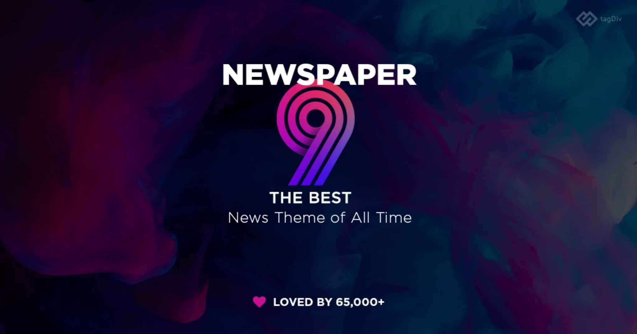 Newspaper 9 Blogger Template - Hindicraze