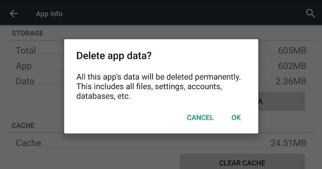 Apa yang terjadi jika kita menghapus data FF?