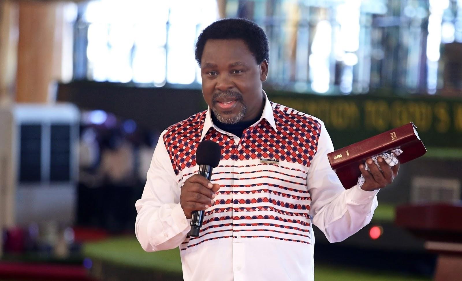 Open Letter To Prophet TB Joshua
