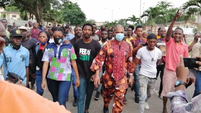 Lagos curfew: Protesters Replied Gov. Sanwo-Olu #Endsars