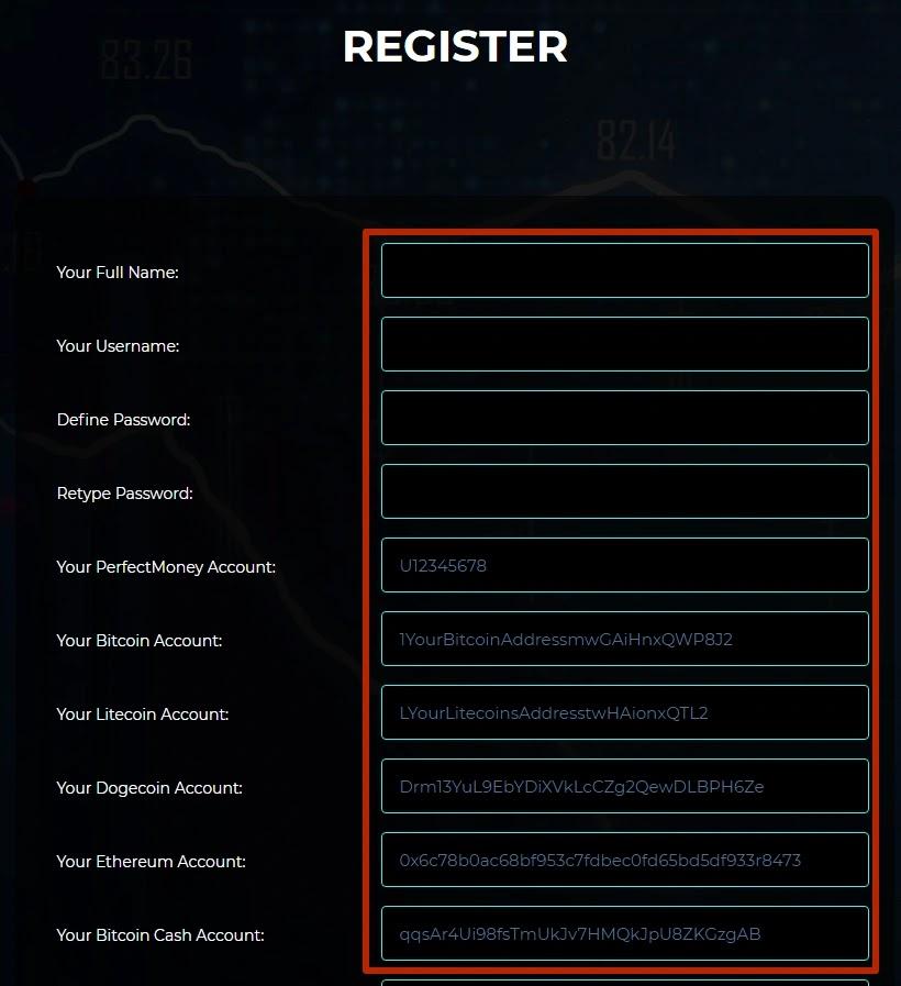 Регистрация в Ex Trades 2