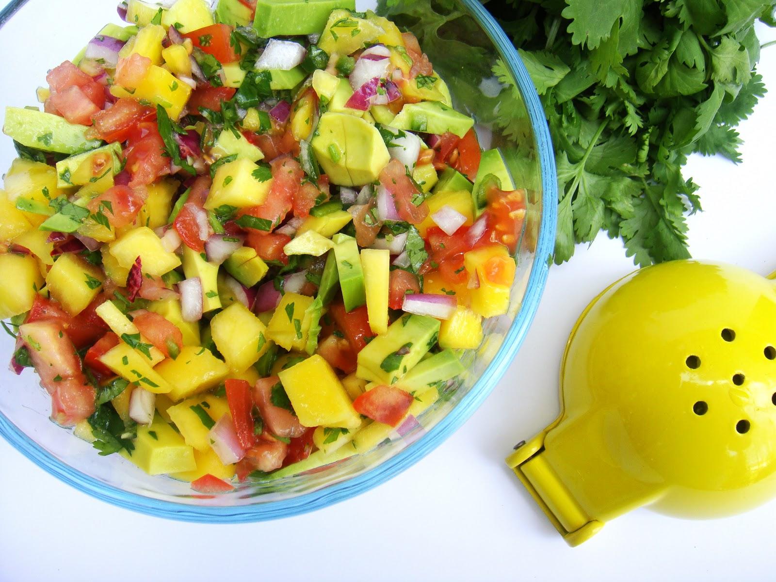 Mango Avocado Salsa | Raw Edibles