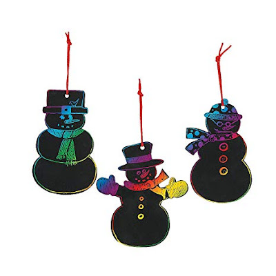 Magic Scratch Snowman Kit is perfect for your Girl Scout meeting