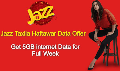 Jazz Taxila Haftawar Data Offer