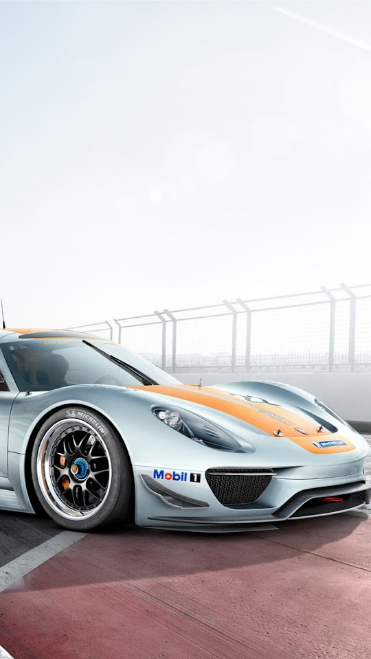 Porsche 918 RSR Front   Galaxy Note HD Wallpaper