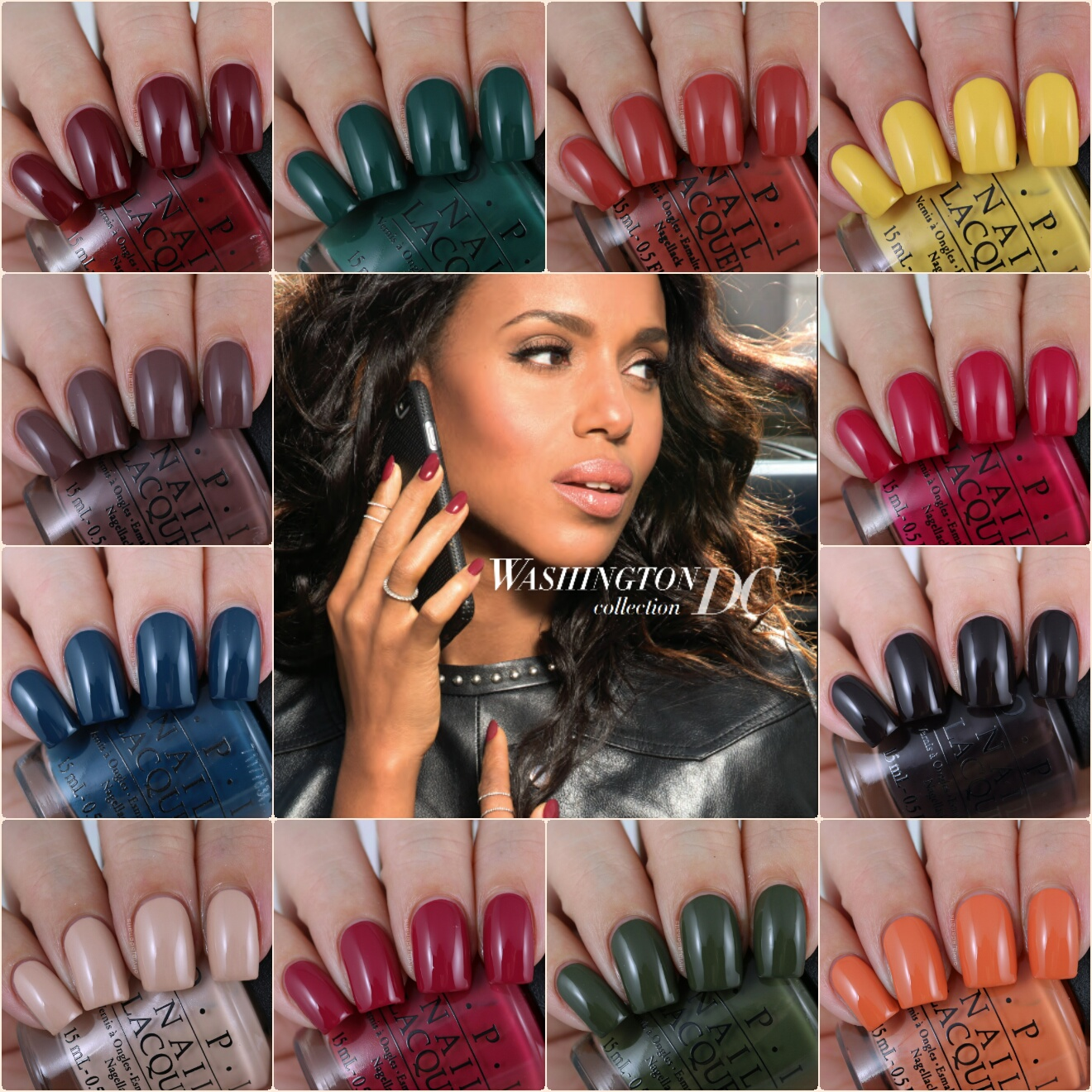 Olivia Jade Nails: OPI Washington DC Collection - Swatches & Review