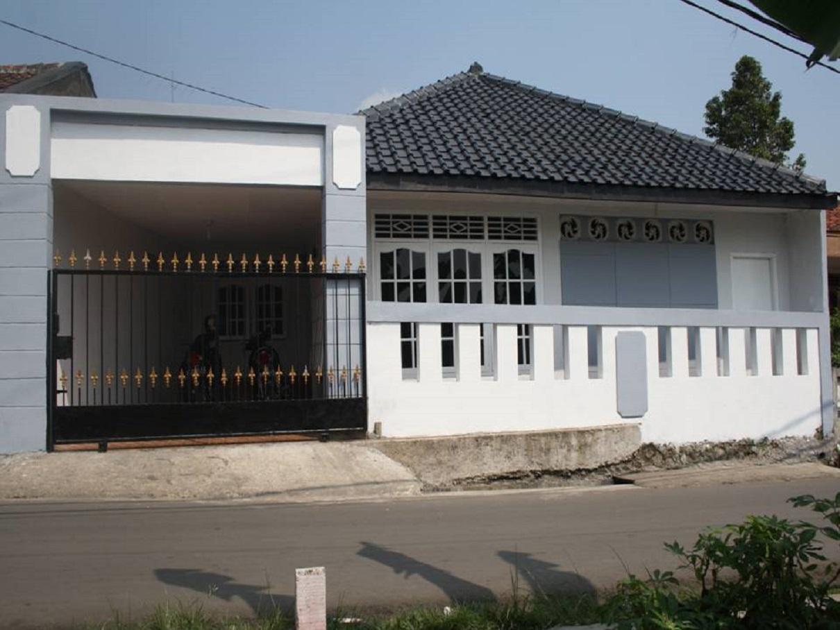 hasil proyek renovasi Rumah 1 lantai milik Bpk Egi Masna, di Jl.Mekarjaya no.14,Mekarjaya, Ciomas, Bogor tahun 2008