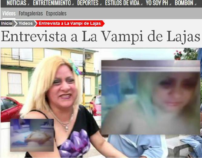 Desnuda video La vampi