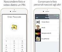 Nascondere foto su iPhone e iPad e proteggerle con password