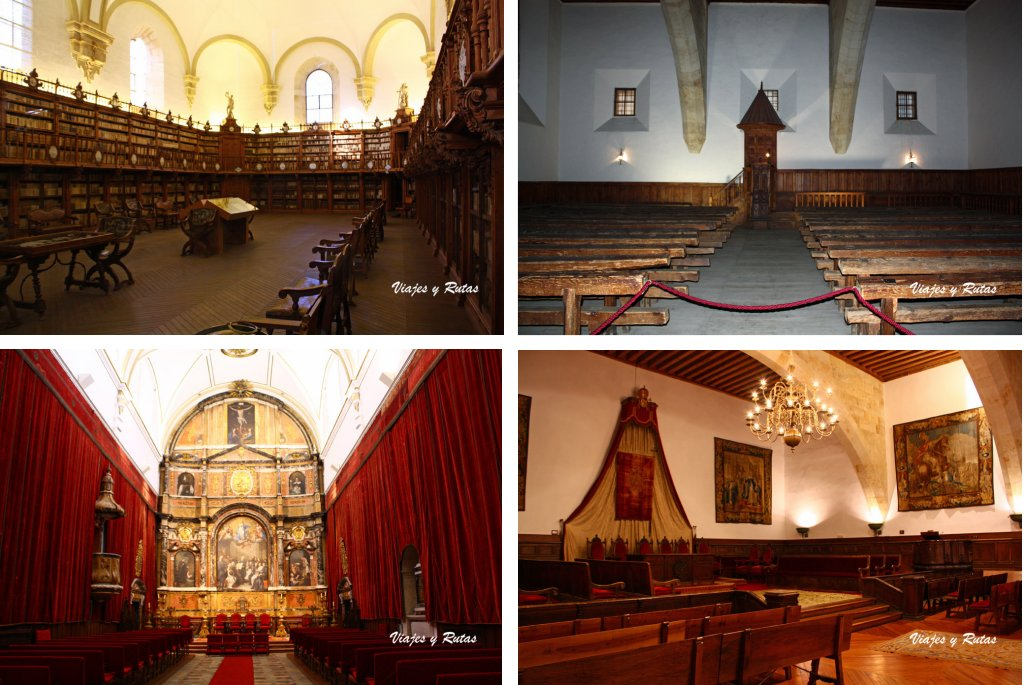 Interior de la Universidad de Salamanca