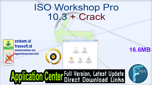 ISO Workshop Pro 10.3 + Crack_ ZcTeam.id