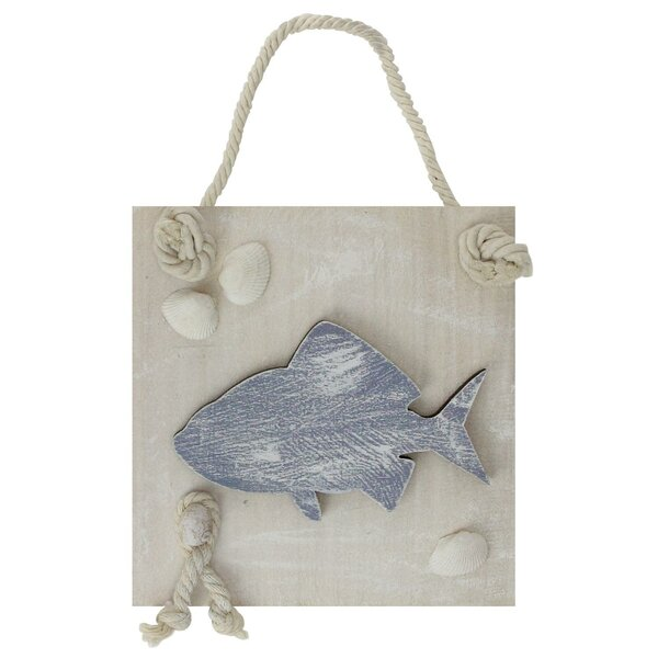 Cape Cod Inspired Fish Wall Hanging Decor