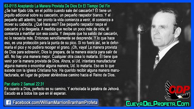 Que es lo que sucede con la iglesia Cristiana - William Branham en Español