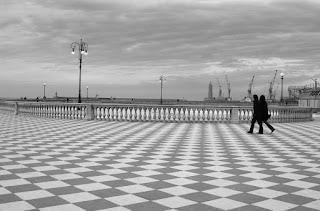 The Terrazza Mascagni promenade in Livorno