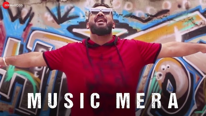 Music Mera Lyrics in Hindi - Aayush T