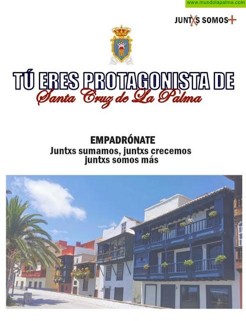 El Ayuntamiento inicia una campaña para fomentar y favorecer que todos los residentes en la capital se empadronen