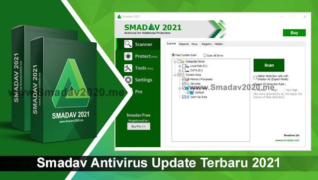 Smadav Antivirus Update Terbaru 2021