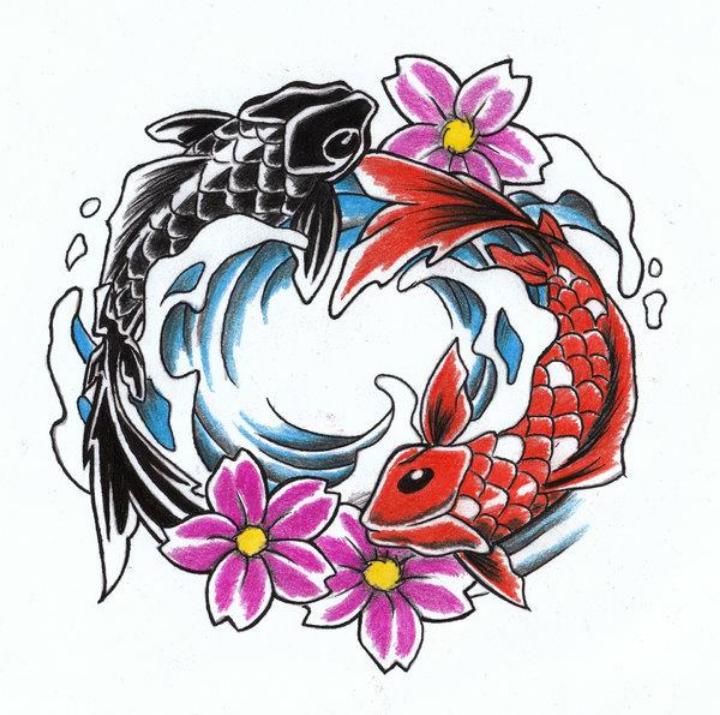Cuál Es El Significado De Los Tatuajes De Pez Koi