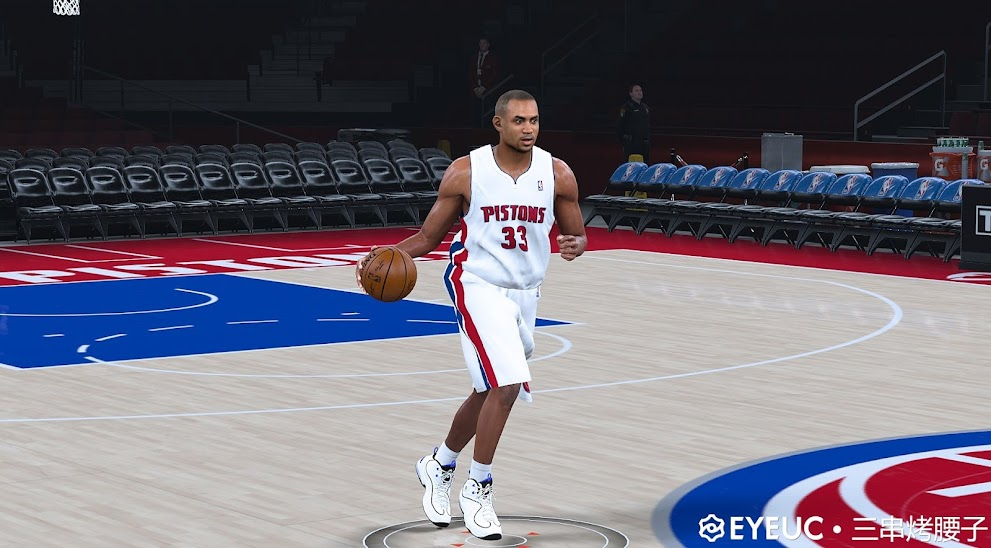 Grant Hill Cyberface and Body Model By Shoddy Series [FOR 2K21]