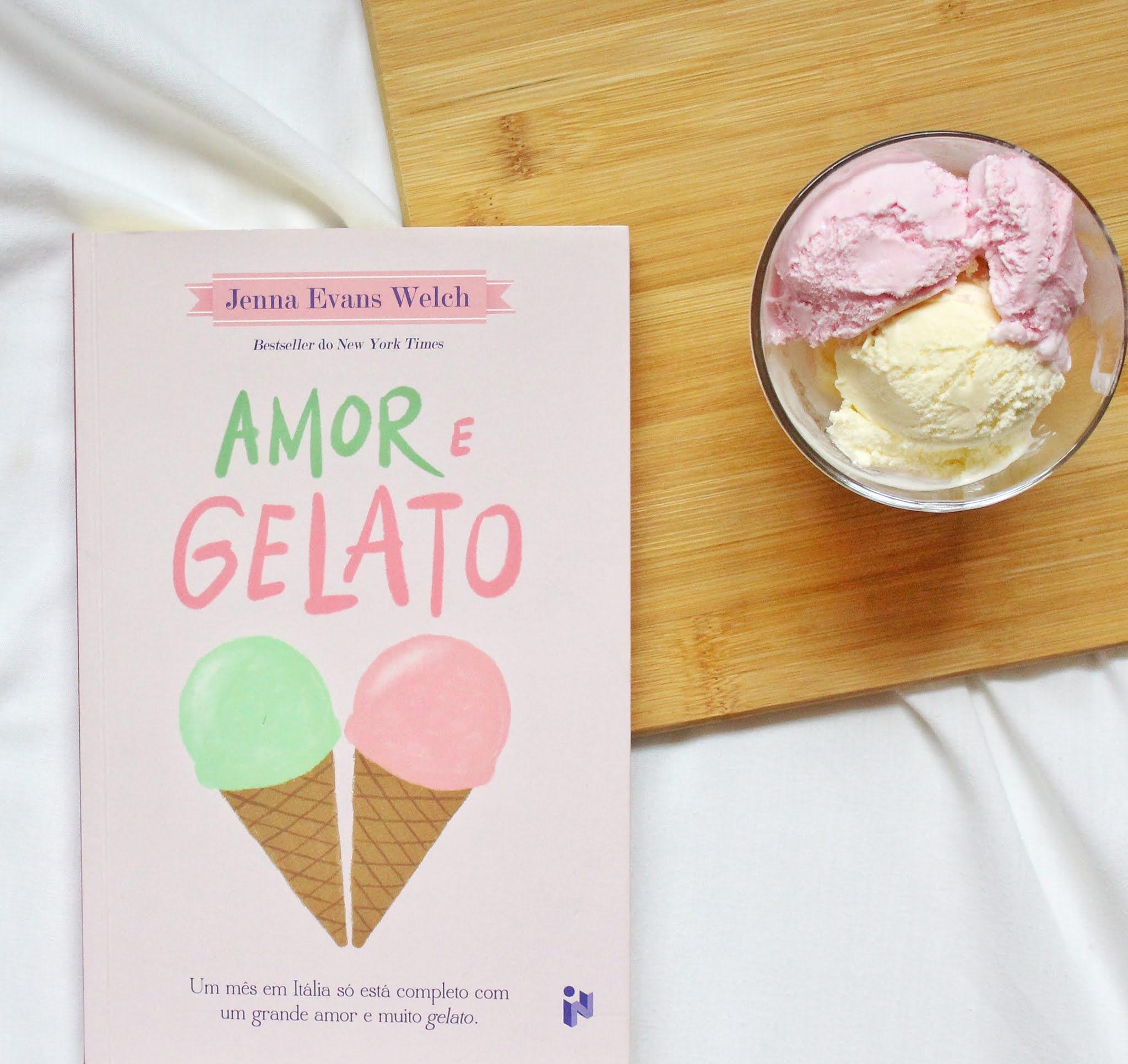 Livro «Amor e Gelato»