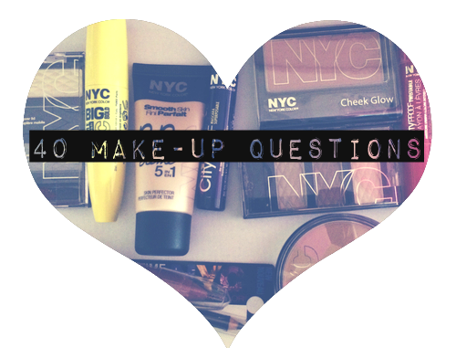 TAG I 40 Makeup Questions