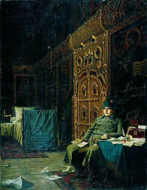 Василий Васильевич Верещагин - На этапе. Дурные вести из Франции. 1887-1895
